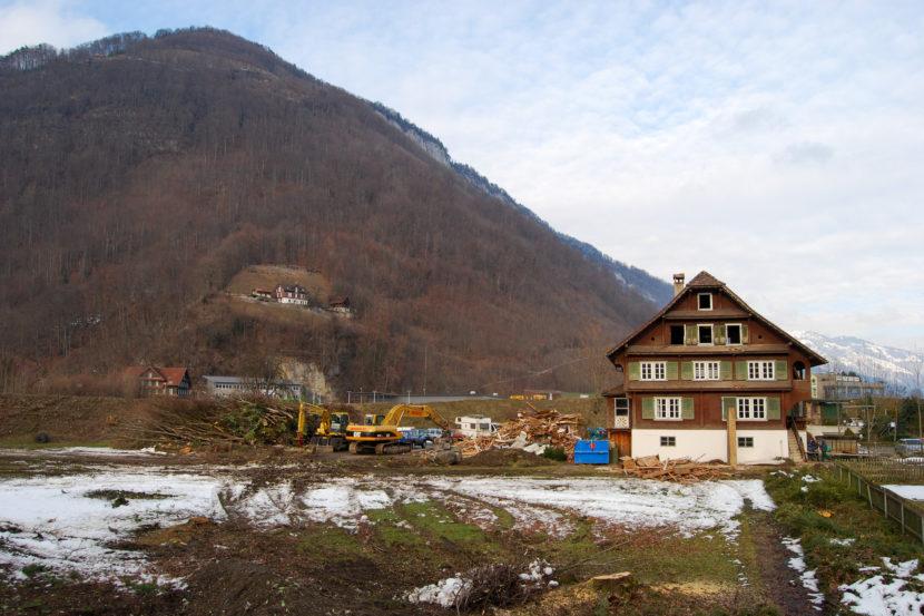 Geisterhaus von Stans